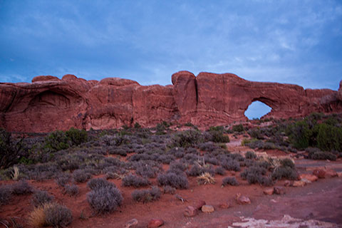 An Arch in Arches National Park