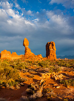 Twin spires arches national park
