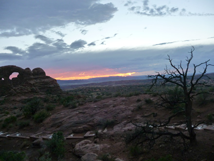 Sunset, Arches National Park