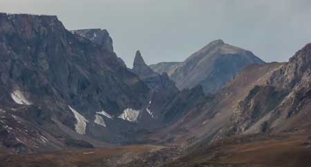 The peak that is called the Beartooth
