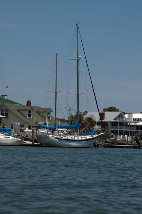 Sailboat in Beaufort