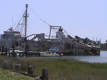 Menhaden boats in 2004