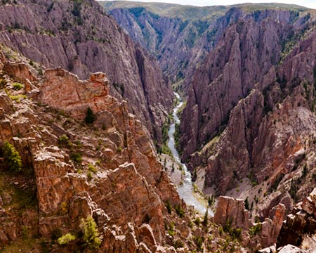 Black Canyon of the Gunnison North Rim