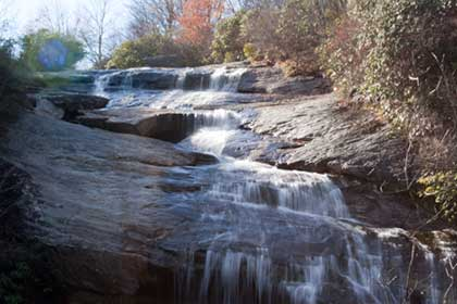 Lower Yellowstone Falls at Graveyard Fields