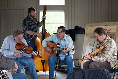 Live music Blue Ridge Music Center
