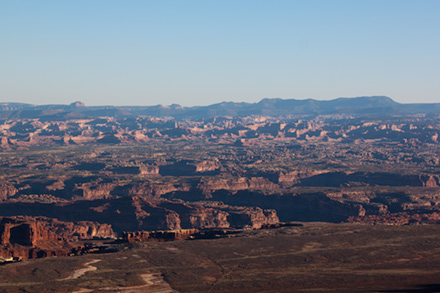 Grand View overlook Canyonlands National Park