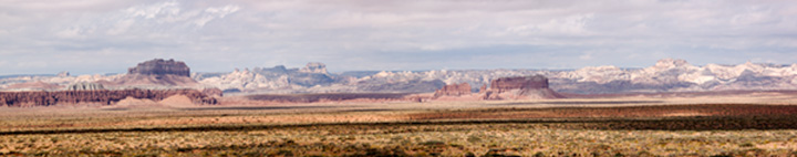 Panarama of Capital Reef