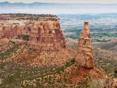 Spire in Colorado National Monument