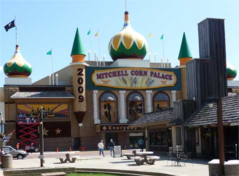 Front of Corn Palace