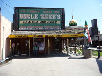 Uncle Zakes store Mitchell SD