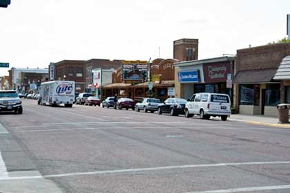 Downtown Mitchell