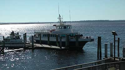 National Park Service Ferry to Cumberland National Seashore