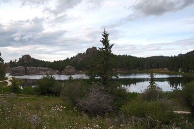 Lake at Custer State Park, SD
