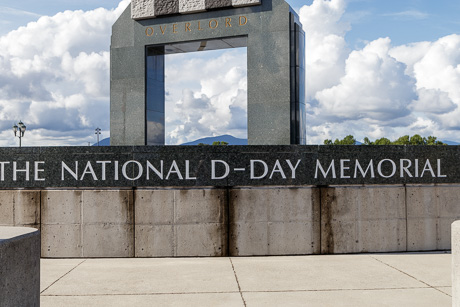 Entrance of D Day Memorial