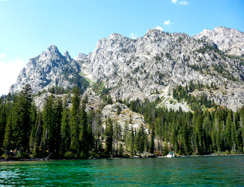 Jenny Lake and Mountains