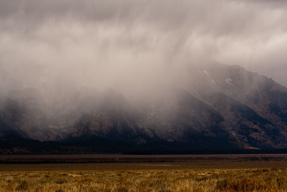 Storm on the Tetons