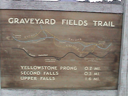 Map of the Graveyard Trail System