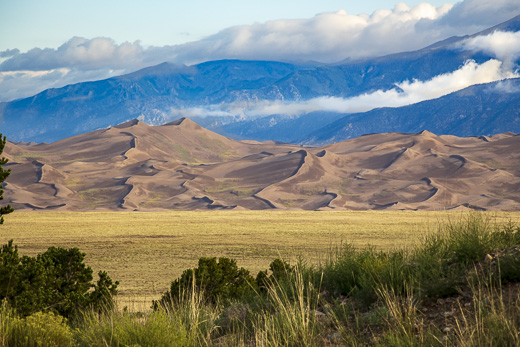 Sand Dunes in Great Sand Dunes National Park