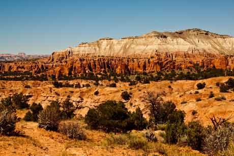 Overview of Kodachrome Basin State Park, Utah