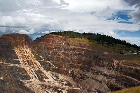 Homestake Open Pit Mine