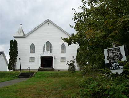 Sacred Heart Church, Lubec Maine