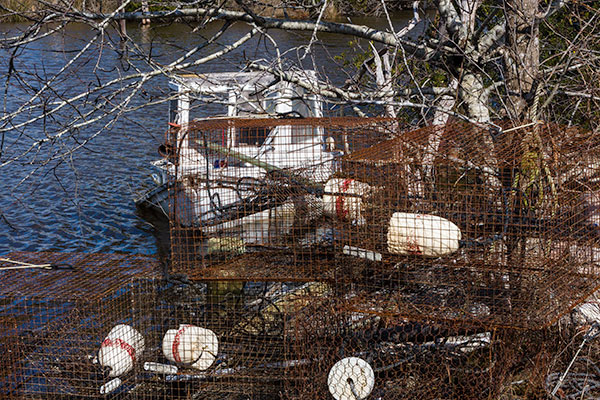 Fishing Boat a Crab Pots