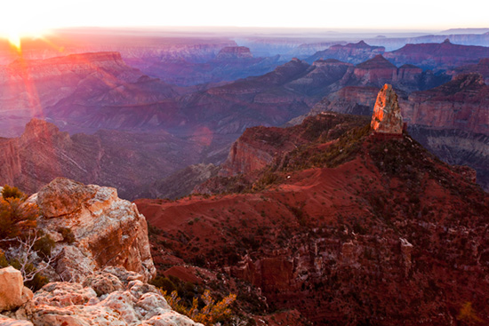 Sunrise North Rim of the Grand Canyon