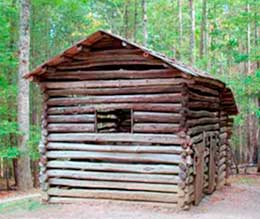 Old building in Cades Cove