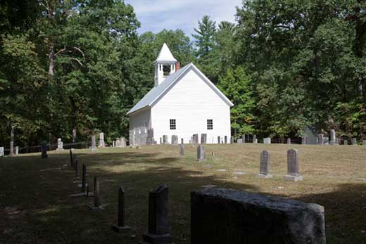 Primitive Bapist Church in Cades Cove