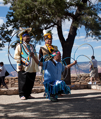 Hopi Indian Dancers